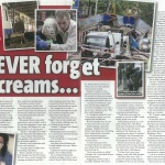 Press for 7/7 victim Beverli Rhodes tell her story in numerous publications