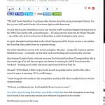 Huffington Post Lando Norris article