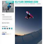 Interview with snowboard legend Kelly Clark
