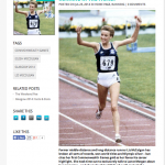 Interview with long-distance star Liz McColgan