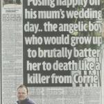 Looking after publicity for step dad of child killer Daniel Bartlam