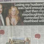 £4million deathbed will court case (Daily Mirror)